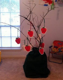 Apple Fun Number Tree