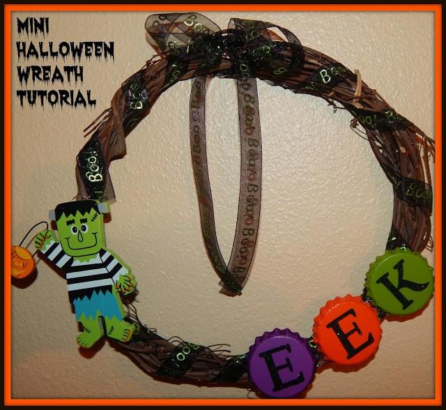 Easy Simple Cute Scary Fun Halloween Door Decoration Wreath