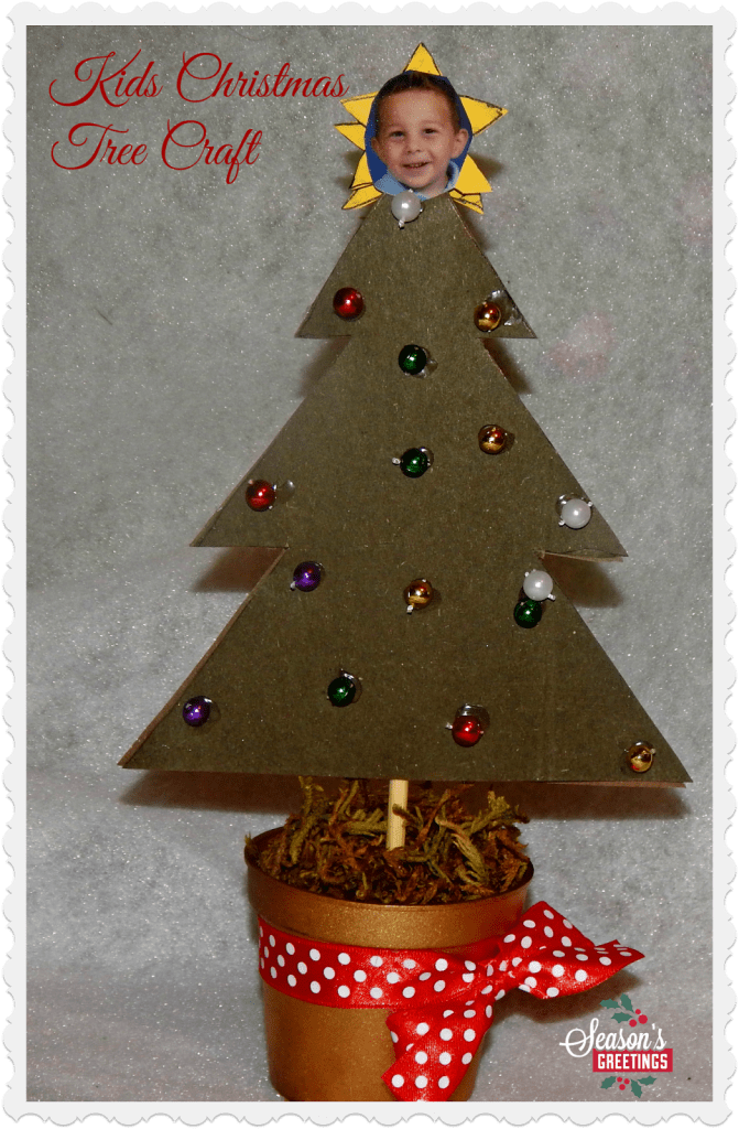 Kids Christmas Crafts , Christmas Tree Craft