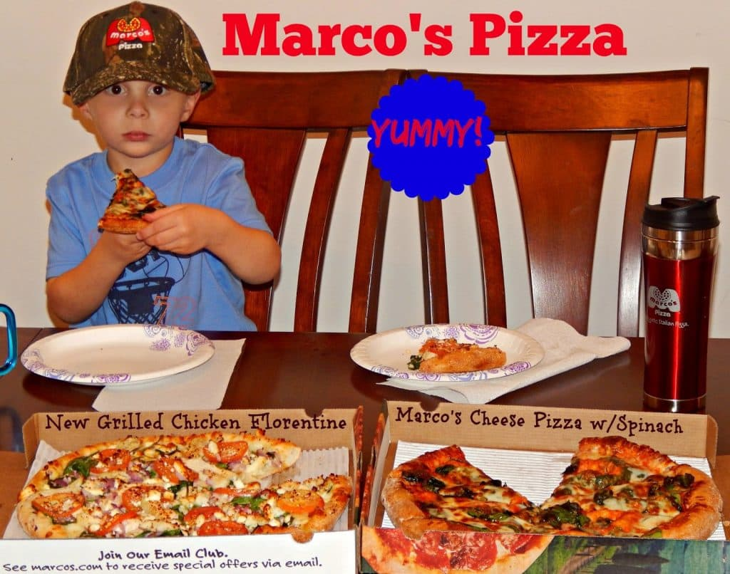 New Grilled Chicken Florentine Pizza,Marco's  Pizza Review, Blog Pizza Review