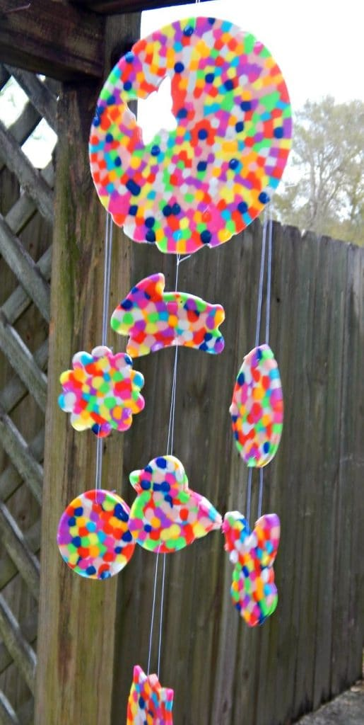 DIY Sun Catcher Mobile