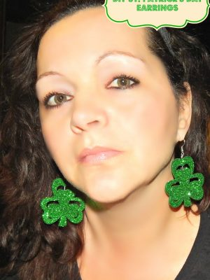DIY St.Patrick's  Day  Earrings