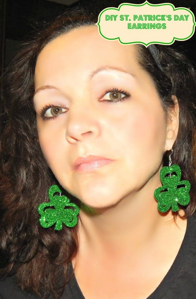 St.Patrick's Day Crafts , St.Patrick's Day Earrings, Earrings, St.Paddy's Day