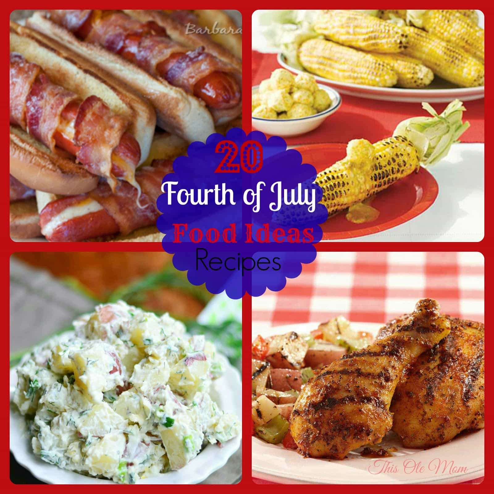 20 amazing fourth of july food ideas this ole mom for July 4th food ideas