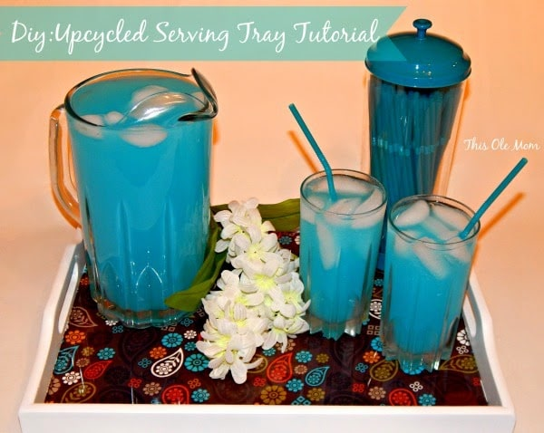 DIY: Upcycled Serving Tray Tutorial