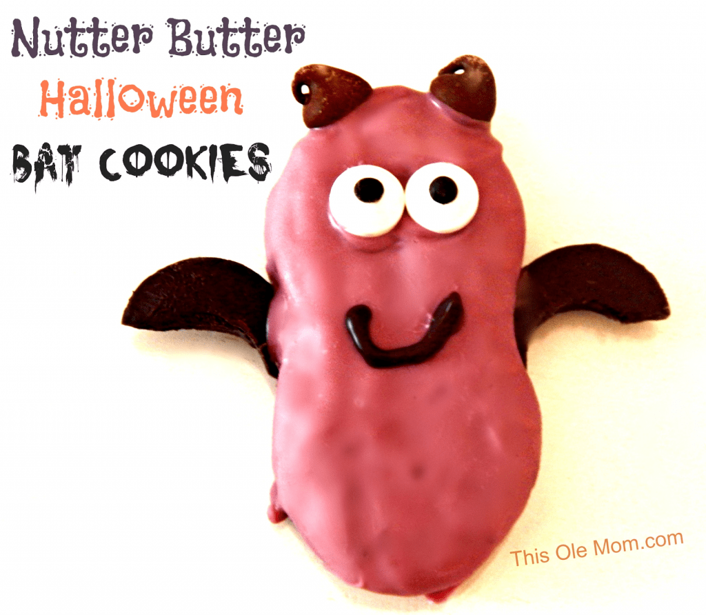 Bat Cookies, Halloween Cookies, Party Treats