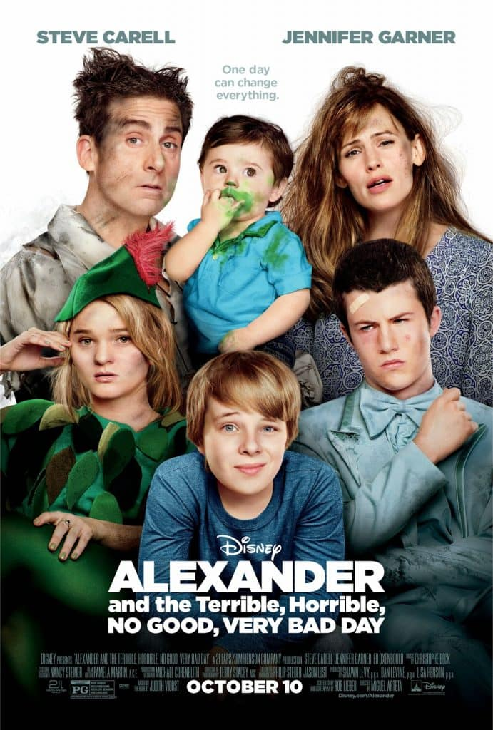 Disney Giveaway, Disney, Prize Pack, Disney Movie, Very Bad Day, Alexander