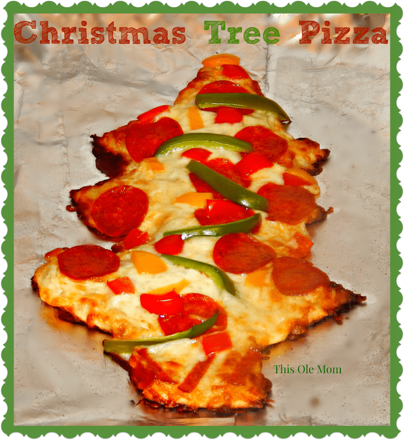 Hormel Pepperoni Pizza, Pepperoni Christmas Tree Pizza, Kids Christmas Pizza