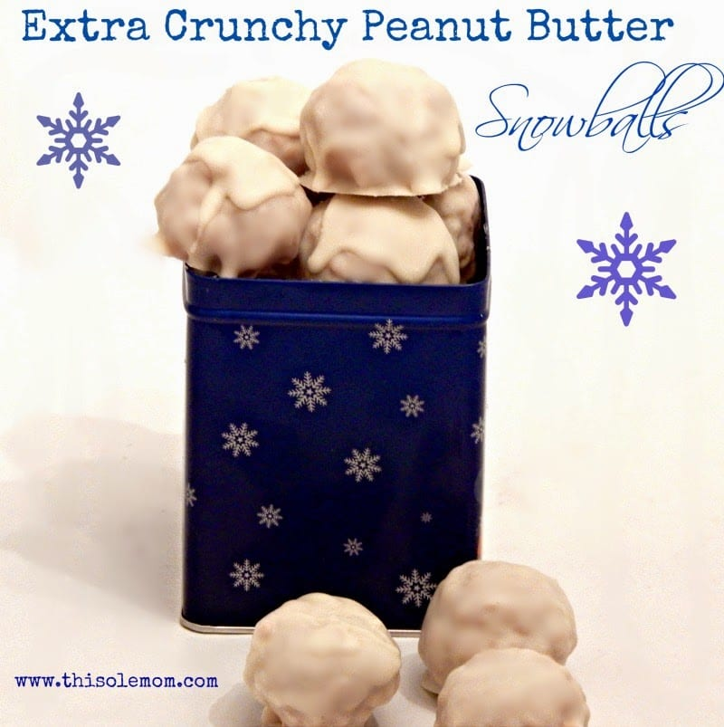 Extra Crunchy Peanut Butter Snowballs This Ole Mom