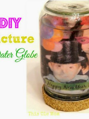 DIY: Picture Water Globe