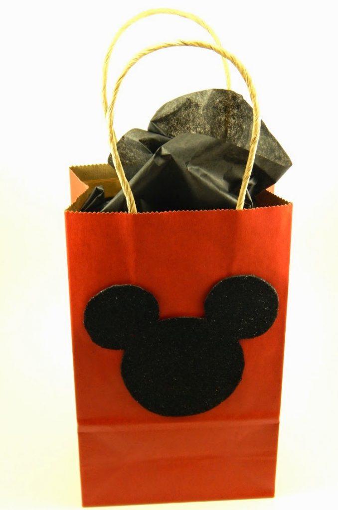 DIY Mickey Mouse Gift Bag
