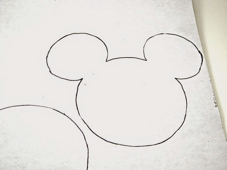 Mickey Mouse Head Templates