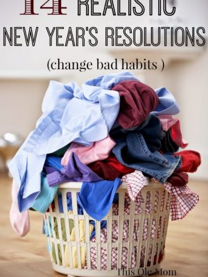 14 Realistic New Year's Resolutions for 2015