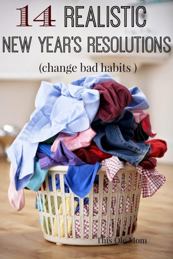 Realistic New Year's Resolutions for 2015, Change Bad Habits, New Year's Resolutions