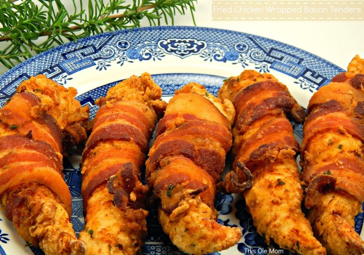 Hormel Bacon wrapped Chicken, Fried Chicken, Fried Chicken Tenders, Bacon Recipes, Chicken Recipes, Super Bowl Food