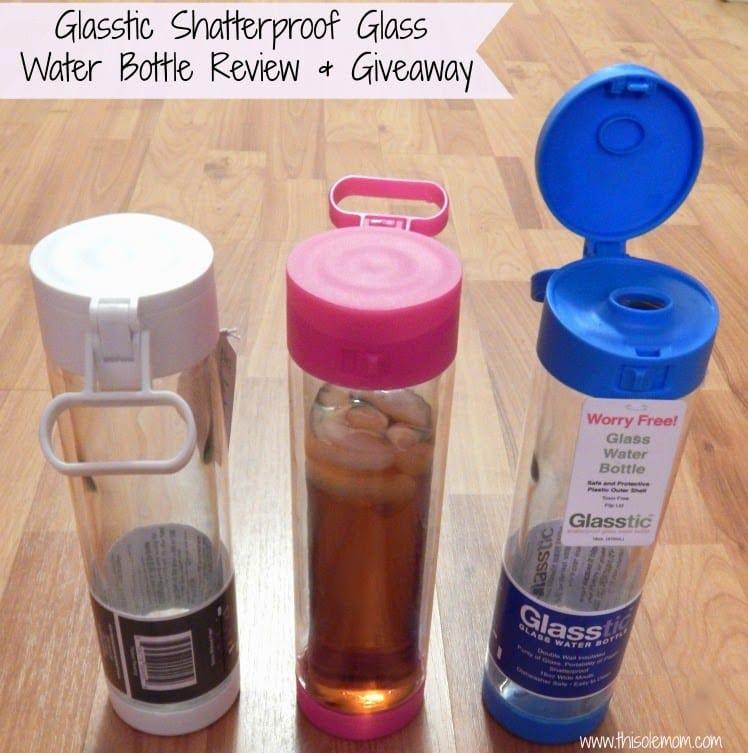 BPA free water bottle, Shatterproof glass water bottle , Glasstic, Toxin free water bottles