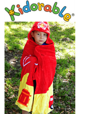 Kidorable Deluxe Hooded Towel Review and Winner's Choice Kidorable Umbrella Giveaway