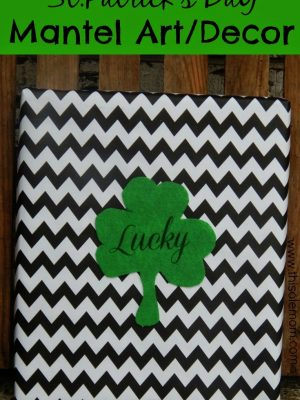 St.Patrick's Day Mantel Art/Decor
