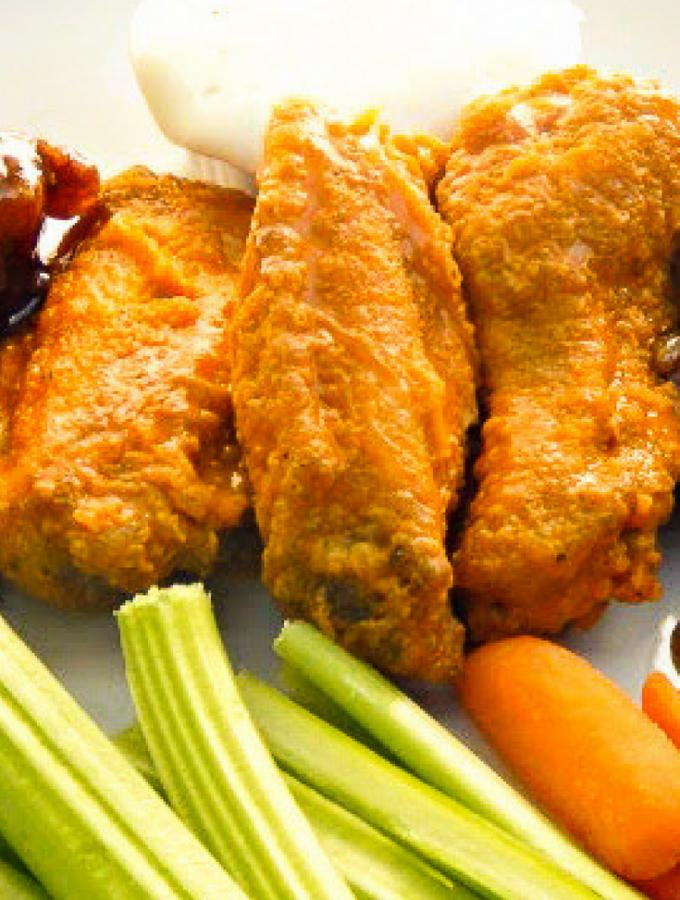 Finger Lickin' Good Chicken Wings