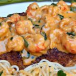 Pan-Fried Speckled Trout with Crawfish Sauce