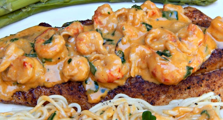 Speckled Trout Recipes, Sustainable Seafood Blog Project, Sustainable Seafood Recipes, Sustainable Seafood, Crawfish Recipe, Fish Recipe , Seafood Recipe, Creamy Crawfish Sauce