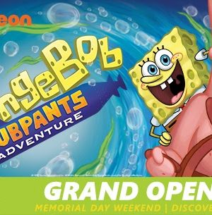 SpongeBob SubPants Adventure Opening this Memorial Weekend at Moody Gardens Galveston, Texas + Coupon Code