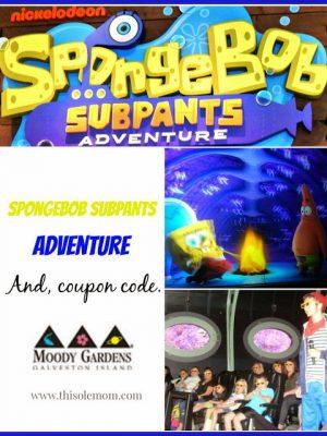 Nickelodeon SpongeBob SubPants Adventure & Discount Coupon Code