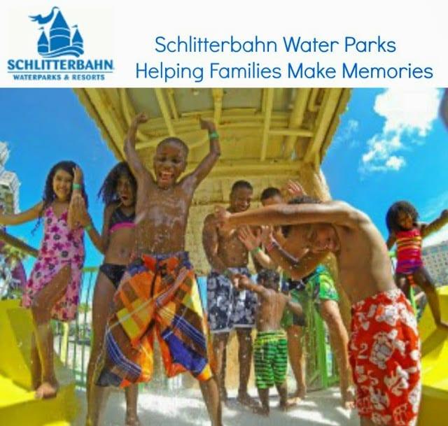 Make Memories at Schlitterbahn Water Parks