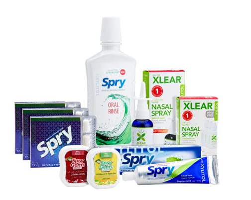 Xlear Care Kit Review Moms Meet, Xylitol Review , Xlear Review, Xlear Care Kit Review, Spry Oral Rinse Review, Spry Gem Mints, Xlear Nasal spray Review