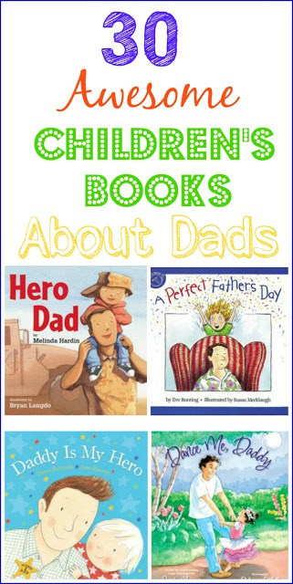 Kids Books About Dads, Books for Father's Day, Gift Idea for Father's Day, Kids Gifts for Father's day, Books for Dads