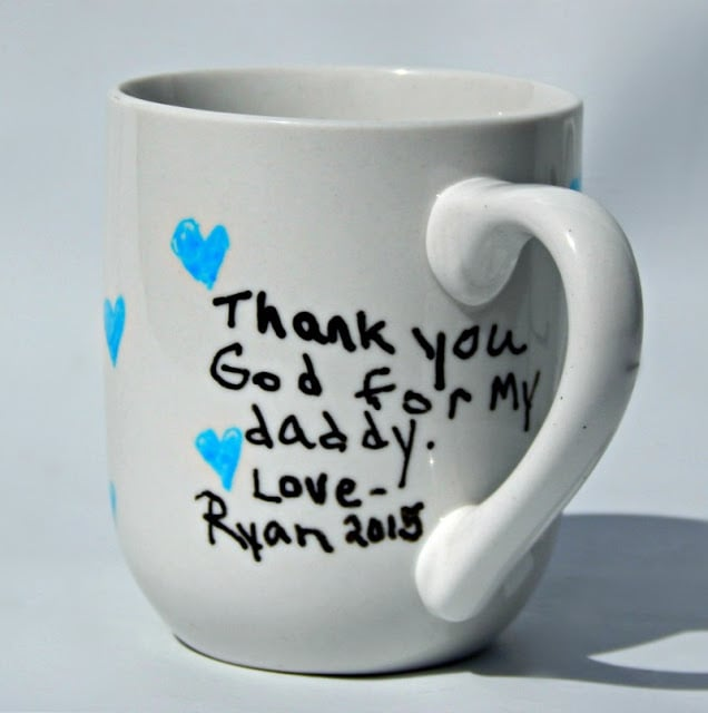 Diy Painted Father 39 S Day Mugs This Ole Mom