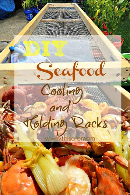 DIY Seafood Cooling and Holding Rack
