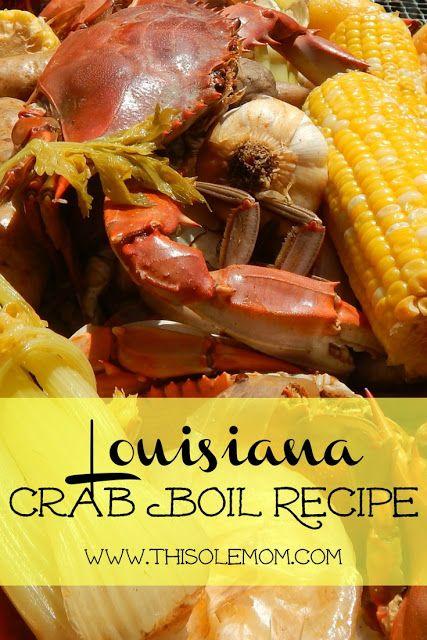 Louisiana Crab Boil Recipe