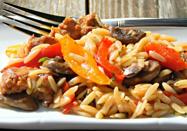 Orzo Pasta, Orzo Pasta Salad, Orzo Salad, Orzo Pasta Salad Recipe, Orzo Veggie Salad, Orzo Vegetable Pasta Salad, Orzo Pasta with Pork Sausage, Orzo Recipe, Orzo Pasta Salad with Grilled Veggies, Orzo Salad Recipe great for Picnics