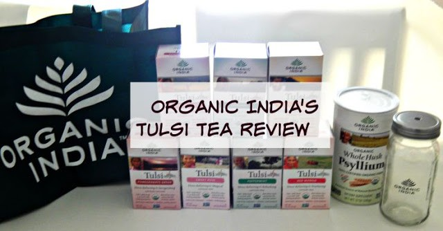 Organic India's Tulsi Tea Review #MomsMeet #OrganicIndia