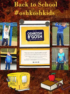 Back -to-School in Style with OshKosh B'gosh #backtobgosh #oshkoshkids