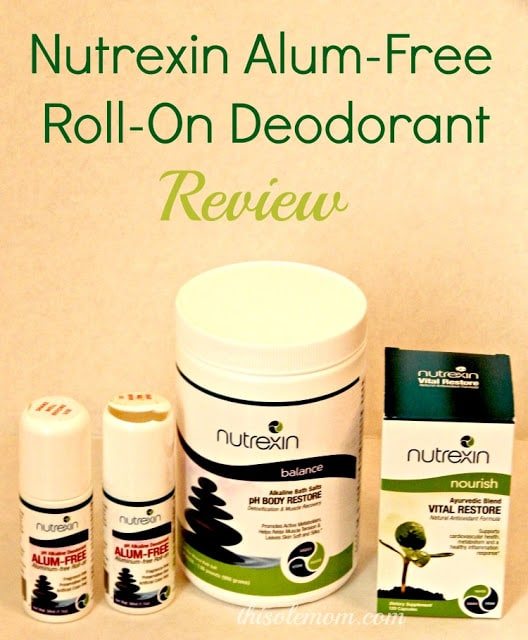 Nutrexin Alum Free Deodorant, Nutrexin Bath Salts, Nutrexin Product review, Nutrexin Natural Products