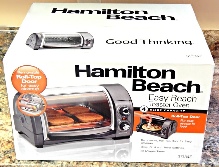 Hamilton Beach Easy reach toaster Oven Giveaway