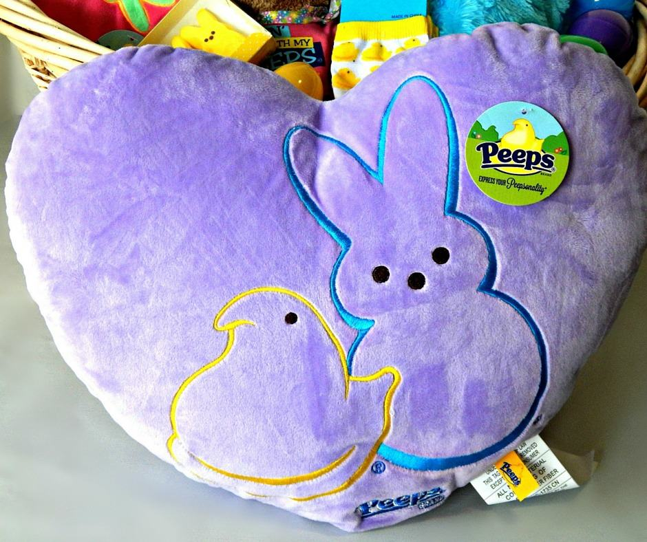 Peeps Heart Shape Pillow