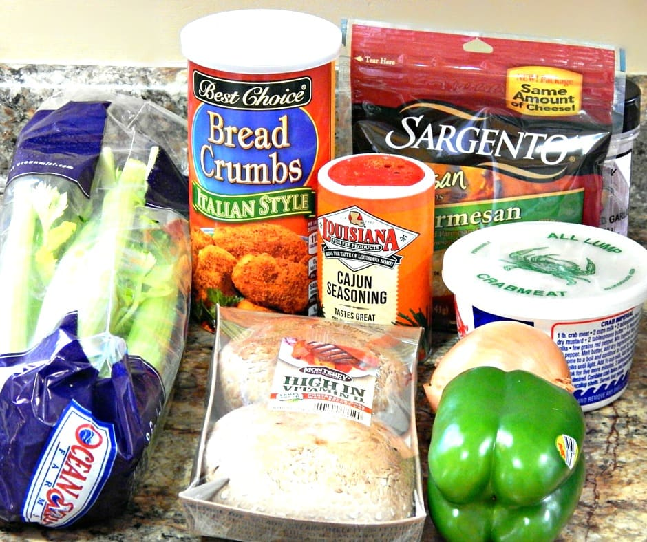 Crab Stuffed Portobello Mushrooms Ingredients