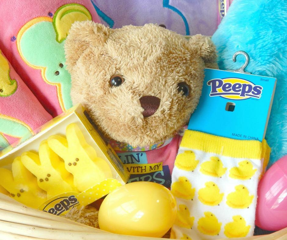 Peeps Easter Basket Idea