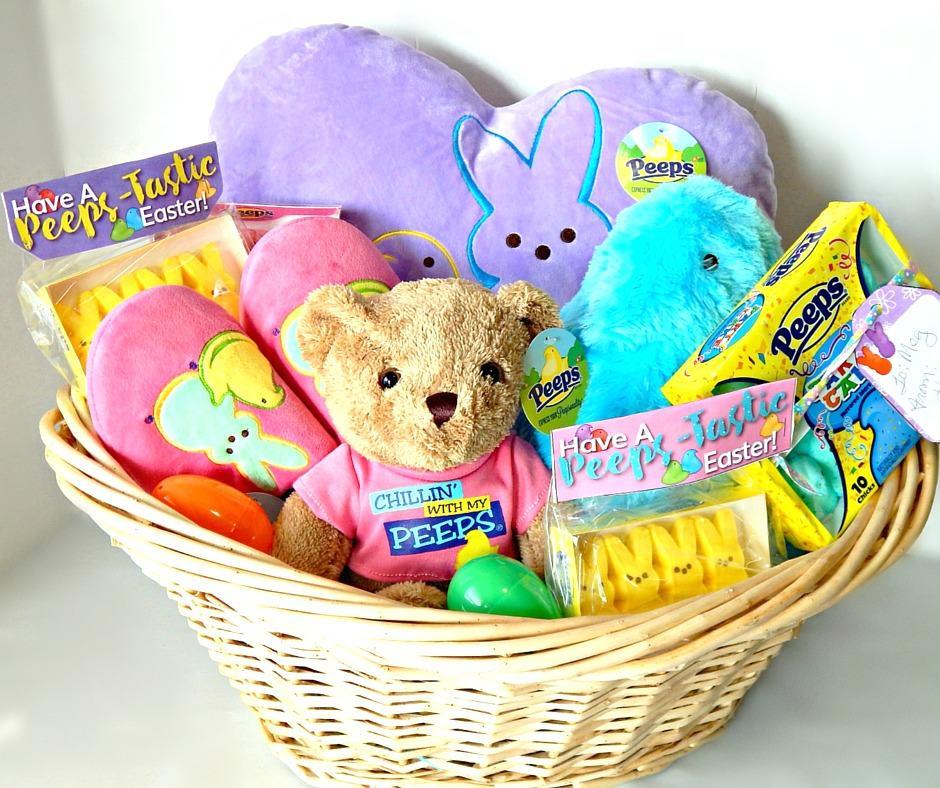 Peeps-tastic Kids Easter Basket