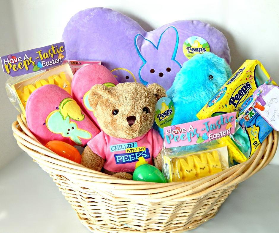Peeps_tastic Easter Basket Idea & Printable