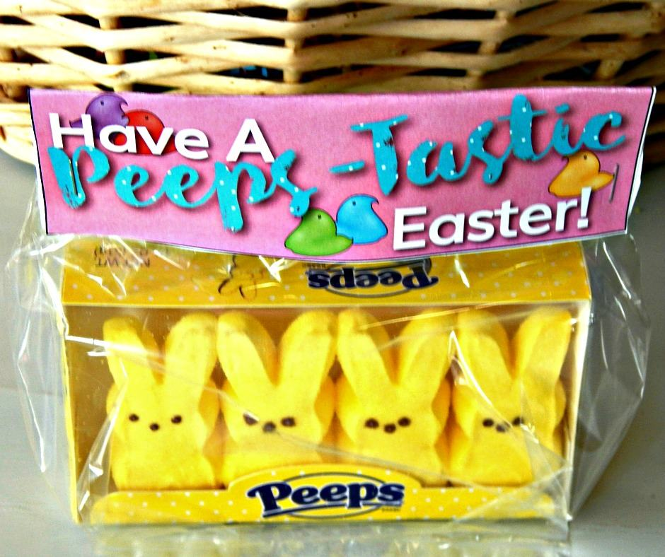 Free Easter Gift Bag Toppers