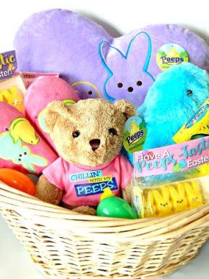 PEEPS®-tastic Easter Basket Idea & Printable