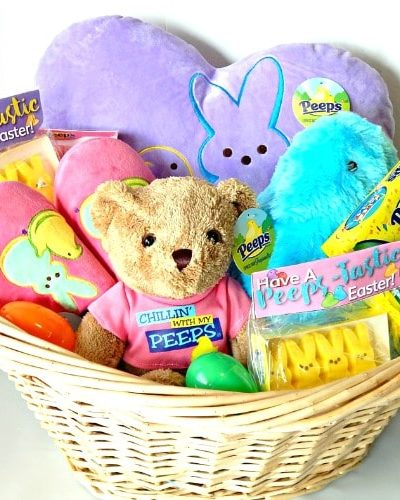 Kids Easter Gift Basket Idea