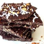 How to make Coconut Oil Chocolate Bark