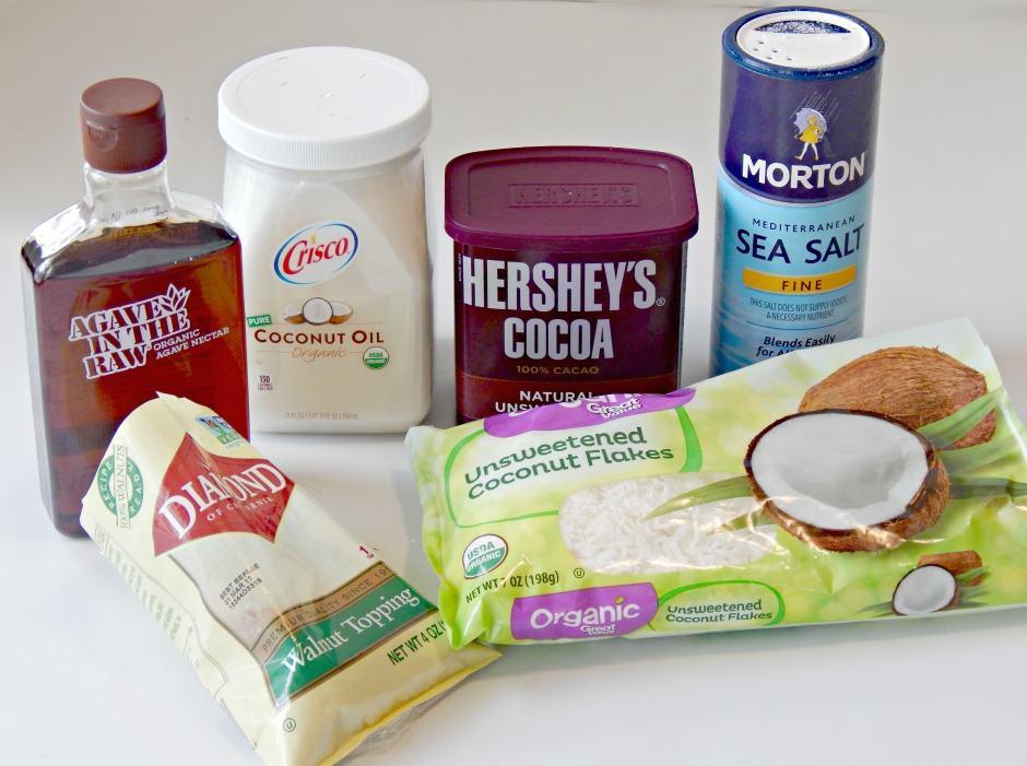 Chocolate Bark Ingredients