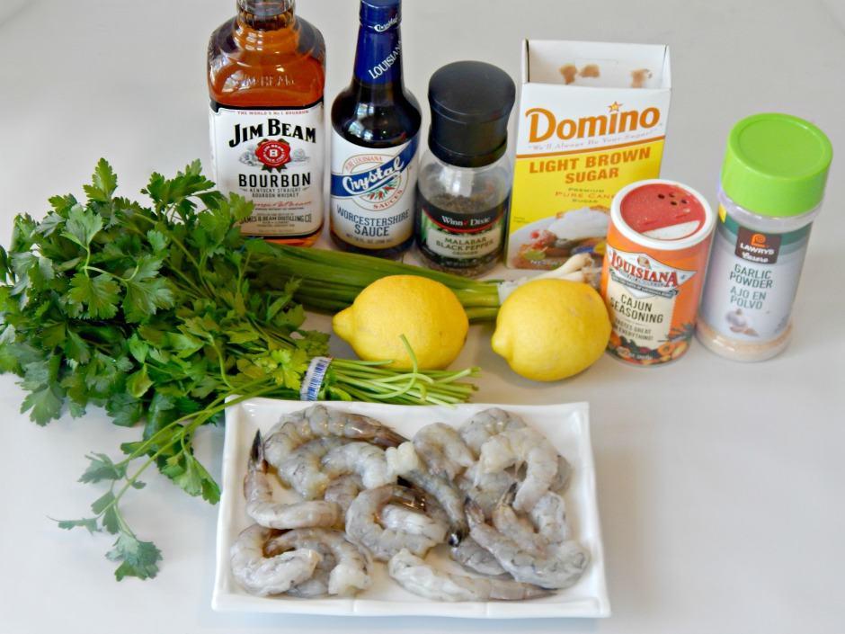 Ingredients for Shrimp Recipe
