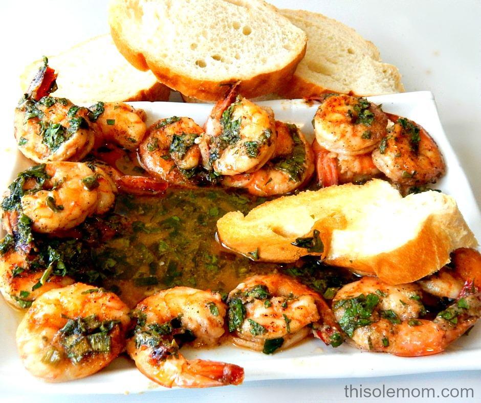 Cajun Shrimp with Bourbon